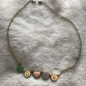 Jewelry: Love Necklace